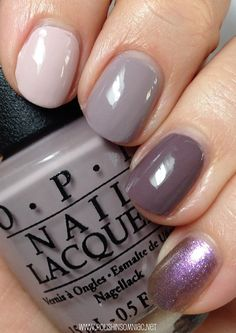 OPI Ombre - Don't Bossa Nova Me Around, Taupe-less Beach, I Sao Paulo Over There, Next Stop... Bikini Zone