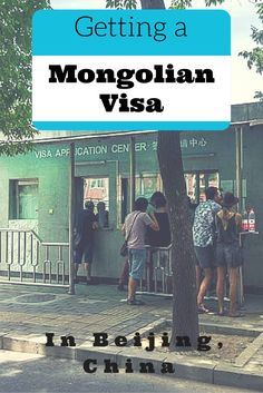All the information you need to know about getting your Mongolian visa in Beijing. #mongoliavisa #china #mongolia