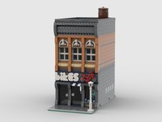 Lego Building, Building Ideas, Lego Modular, Bookends, Buildings, Lego Ideas, Video Games, Houses, Home Decor