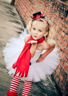 Miss Frosty the Snowman Tutu Christmas Outfit by EllaBooCouture, $55.00