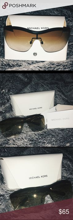 Michael Kors Paphos Sunglasses MK500 Perfect condition, never worn! Comes with certification of purchase, sunglass cleaning cloth and manufactures information note! Plastic still on and comes with sunglasses case! Michael Kors Accessories Sunglasses