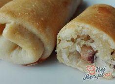 20 nejlepších sezónních receptů z kysaného zelí, strana 1 Mini Hot Dogs, Hot Dog Buns, Food And Drink, Bread, Vegetables, Cookies, Recipes, Crack Crackers, Brot