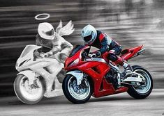 Fahren Sie niemals schneller als Ihr Schutzengel – Foto ideas Never drive faster than your guardian angel – Foto ideas – Motorcycle Couple, Motorcycle Posters, Motorcycle Outfit, Motorcycle Bike, Moto Ducati, Moto Bike, Yamaha, Motorcycle Wallpaper, Motorcycle Photography