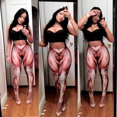 Musclelegs!.. lol.. these are some crazy leggings