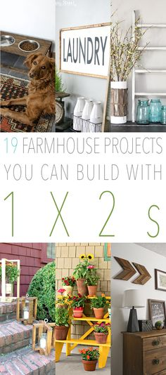 When you think about 1X2's you usually don't picture fabulous diy projects in yourmind do you? Well think again my friends…this super inexpensive little piece of wood can truly work wonders. So today we have put together a collection of 19 Farmhouse Projects You Can Builds With 1X2's and I have a feeling you are …