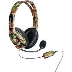 DREAMGEAR DGXB1-6618 Xbox One(TM) Wired Headset with Microphone (Camo)