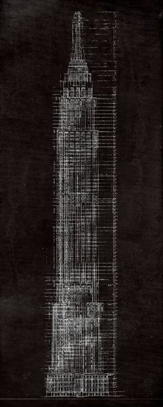 Empire state building blueprints google search wood pinterest more architectural prints httpsetsyshopfirstclassdesigncosectionid16697598refshopsectionleftnav5 or visit our entire shop malvernweather Images