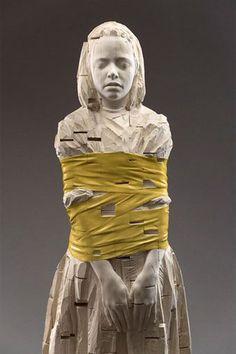 Aron & Gehard Demetz - wood sculpture