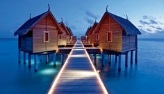 Constance Moofushi Resort: Indulge in a treatment at the over-water wellness retreat, Spa de Constance.