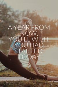 A year from now, you'll wish you had started today. | www.simplebeautifullife.net