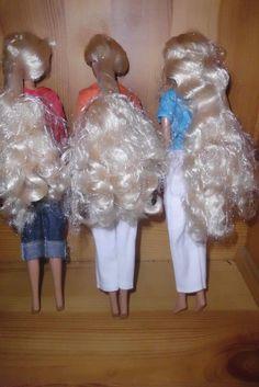 3 Puppen unbespielt Kleidung von Esprit Ankleidepuppen   eBay