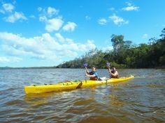 Setting off from Elanda point to spend 3 days exploring the Noosa Everglades. #kayaking #Sunshine Coast #Australia #Noosa Everglades