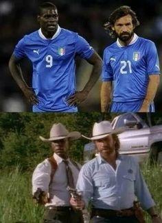 Balotelli & Pirlo