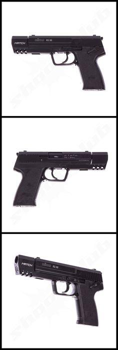 Schreckschusspistole Röhm RG 96 MATCH brüniert Kal. 9 mm    - weitere Informationen und Produkte findet Ihr auf www.shoot-club.de -    #shootclub #pistol #pistole #guns #Blankgun #9mm