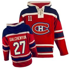 7eb6fe25123 Brendan Gallagher Jersey-Buy official Old Time Hockey Brendan Gallagher  Men s Authentic Sawyer Hooded Sweatshirt Red Jersey NHL Montreal Canadiens  I NEED ...