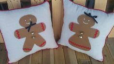 gingerbread pillows