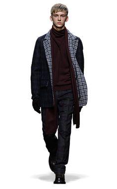 Ermenegildo Zegna Couture: Fall Winter 2014-15 Fashion Show by Stefano Pilati – Look 21