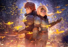 How to train youre Dragon III Fanart Httyd Dragons, Dreamworks Dragons, Httyd 3, Disney And Dreamworks, How To Train Dragon, How To Train Your, Croque Mou, Hicks Und Astrid, Hiccup And Astrid