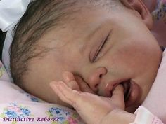 Distinctive Reborns PROTOTYPE Lifelike Reborn Baby Girl Doll SOFTLINE CRISTINA