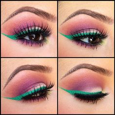Green winged liner