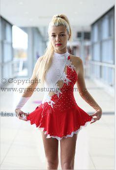 IMMEDIATELY Masterclass vestido de patinaje artístico