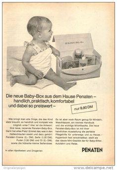 Original-Werbung/ Anzeige 1968 - PENATEN - ca. 120 x 170 m