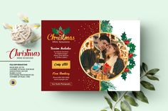 Christmas Mini Session Template, Christmas Photography Marketing Board, Holiday Mini Session | Photoshop & Elements | Instant Download