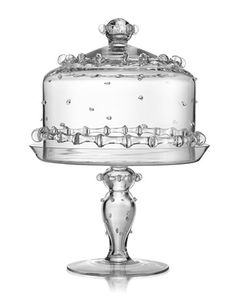 """Harriet"" cake stand.  can't have too many cake stands.  i use them for everything; muffins, cookies, donuts..."