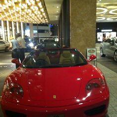 Nice Ferrari in the crown plaza Carpark #cars #Melbourne