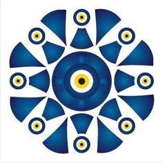 Eye Painting, Ceramic Painting, Islamic Art Pattern, Pattern Art, Evil Eye Art, Eyes Wallpaper, Stencil, Pottery Painting Designs, Watercolor Lettering