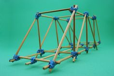 How To Build A Model Bridge Out Of Skewers