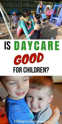 Is daycare Good for children? Truth is, even though bad things happen in daycare sometimes, there is a whole lot of good going on in childcare as well. Daycare can be a gift. Quality childcare can have amazing benefits for child development. #daycaretruths