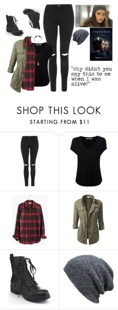 """Hannah Baker Style"" by jonas-bros02 ❤ liked on Polyvore featuring Topshop, Alexander Wang, Madewell, KBETHOS and H&M"