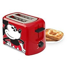 Get the most out of your toast with this Mickey Mouse toaster that turns breakfast into a fun occasion. Mickey Mouse character imprint on toast extra-wide sl… Disney Mickey Mouse, Cozinha Do Mickey Mouse, Disney Dorm, Casa Disney, Mickey Mouse Kitchen, Minnie Mouse, Classic Mickey Mouse, Mickey Y Minnie, Disney Disney