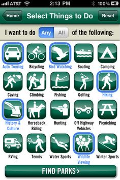"""""""Oh, Ranger! ParkFinder app is one of the best (if not the best) to find parks and nature trails suited to your needs. A must-have for nature lovers, and it's FREE!"""""""