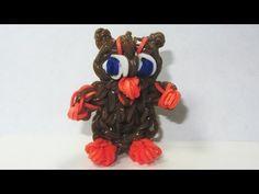 ▶ Rainbow Loom Charms: OWL: How to Make a Rainbow Loom Owl Charm - YouTube