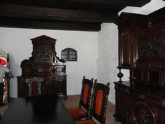 Dracula Interior of Bran Castle