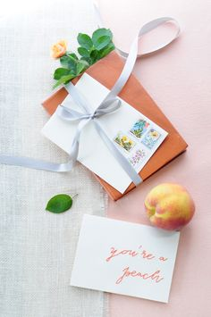 DIY cross-stitched placecards // by Elisa Restea Design, photo by Vanagraph // View more: http://ruffledblog.com/diy-cross-stitched-placecards/