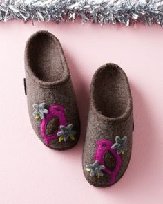 Giesswein Birdhouse Wool Slippers