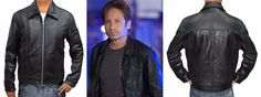 "This jacket is truly inspired from one of the famous television series ""Californication""  David Duchovny in character of, ""Hank Moody"" worn this black real leather jacket is now a available at our online store World Leather Outfitters at reasonable price"