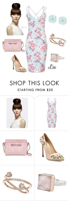 """""""Pretty young thing"""" by coolmommy44 ❤ liked on Polyvore featuring Kate Spade, Giambattista Valli, Topshop, Jamie Joseph and Dettagli"""