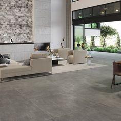 Living Room Decor, Living Spaces, Parquetry, Home Reno, Beach House Decor, Modern House Design, Tile Floor, Outdoor Furniture Sets, Tiles
