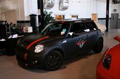 SILVER MATTE MINI COOPER S - Google Search Black Mini Cooper, New Mini Cooper, Thing 1, Body Wraps, Car Wrap, Mini Me, My Ride, Amazing Cars, Old Cars