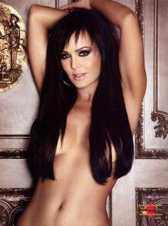 Curvy naked dark latina