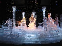 Christmas Ice Sculptures | ICE! in Nashville: The Coolest Place on Earth