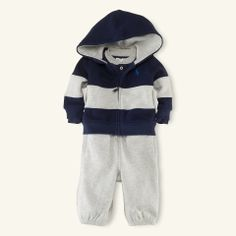 3-Piece Fleece Hook-Up Set - Layette Outfits & Gift Sets - RalphLauren.com
