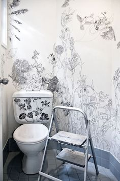 Designer Turns Her Ordinary Bathroom Into An Extraordinary Work Of Art  Inspired By Nature   My Modern Met