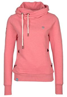Naketano Darth II Hoodie Hoody Sweater Damen Womens XS-XL 10 Farben(Pink Melange,XS) Naketano