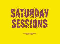 Saturday Sessions