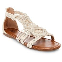 Women's Jewel Thong Sandals Mossimo Supply Co. - Natural